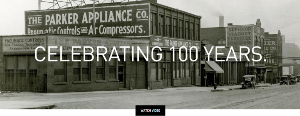 Parker 100 years