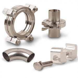 SciMax Vaccum fittings