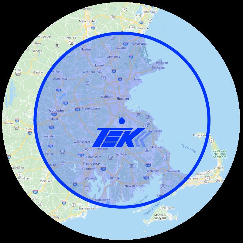 TEK Xpress Map